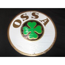 ossa chapa decorativa en relieve de 30 cm de diametro