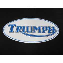triumph chapa decorativa en relieve de 42 x 20 cm
