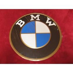 bmw chapa decorativa en relieve de 30cm de diametro