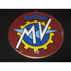 mv chapa decorativa en relieve de 30cm de diametro