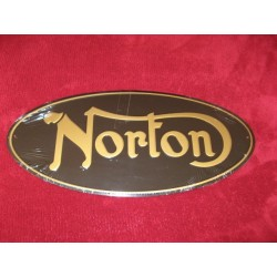 norton chapa decorativa en relieve de 42 x 20cm