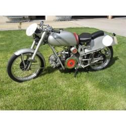 "moto guzzi de carreras ""milano taranto"" restaurada consultar"