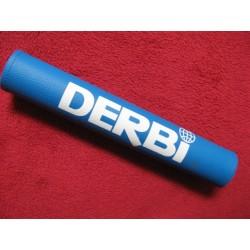 derbi protector de manillar azul