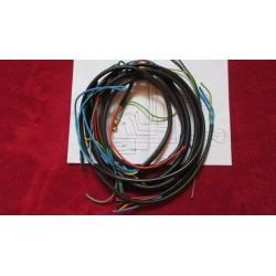 bultaco alpina sistema de cableado electrico con esquema