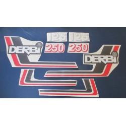 derbi RC y CR 125 y 250 juego de adhesivos tipo 1