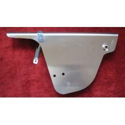 bultaco campo cubrecadena de aluminio ancho con emblema y soporte