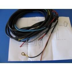 bultaco lobito sistema de cableado electrico con esquema