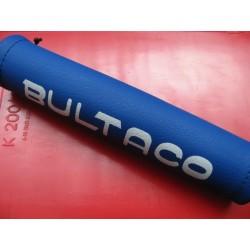 bultaco sherpa protectod del manullar azul y blanco medidas  205 x 43
