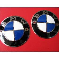 bmw emblemas de chapa de 60 mm pareja