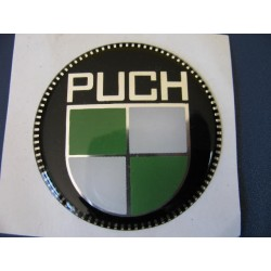 puch emblema en relieve de 55mm de diametro