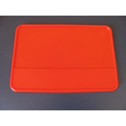 porta numero trial universal rectangular rojo