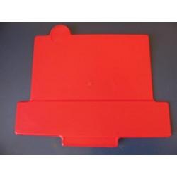 porta numero universal trial formas rojo