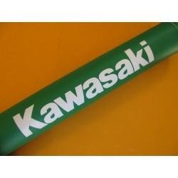 kawasaki protector manillar trial verde con relleno indeformable