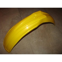 parafango anteriore giallo per moto classica enduro e cross