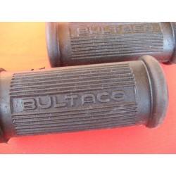"""bultaco reposapies (2) reforzados con palabra """"bultaco"""""""