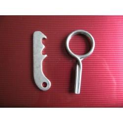 bultaco chispa gear selector lever wuth spring