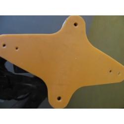 ossa plate rubber (star) vañilla