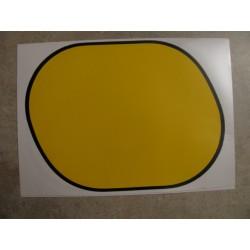 montesa enduro 250 h7 adhesivo tapa lateral izquierda