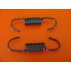 bultaco alpina muelles (2) de las zapatas