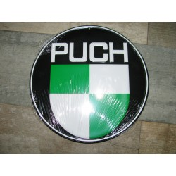 puch emblema adhesivo en relieve de 52mm