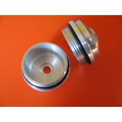 bultaco rosca interior del tapon en aluminio con junta 33 mm