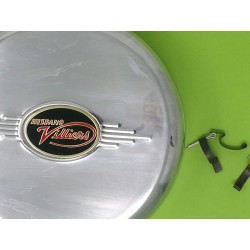 villiers tapa de volante magnetico con emblema y grapas de sujecion