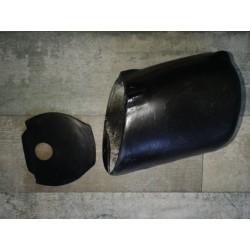 monesa enduro H7 caja de filtro de aire con su tapa posterior y tuercas embutidas para la sujecion al chassis