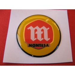 montesa emblema de 27 mm en relieve