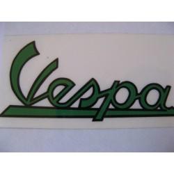 Vespa adhesivo verde/negro