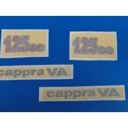 montesa cappra 125 VA juego de 4 pegatinas de las tapas laterales