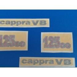 montesa cappra 125 VB juego de 4 pegatinas de las tapas laterales