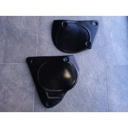 montesa enduro 360 H6 primera serie deposito rojo pareja de tapas laterales en plastico