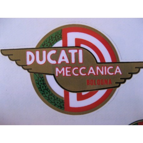 ducati meccanica, emblema deposito