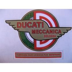 ducati mototrans, emblema depósito