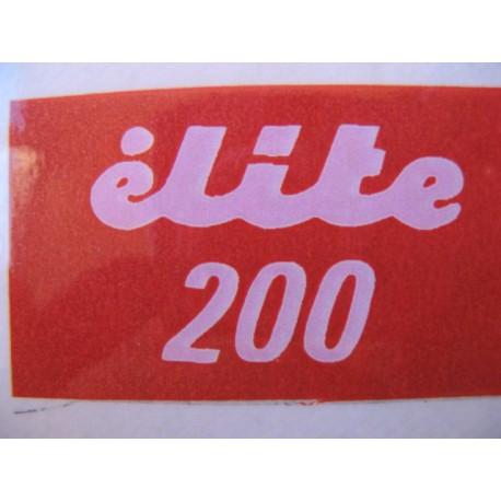 ducati, emblema élite 200
