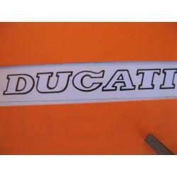 ducati, emblema blanco/negro