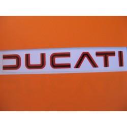 ducati, emblema rojo/negro