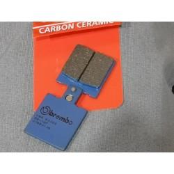 brembo pastillas de freno carbon ceramico para moto clasica años 70 80 90
