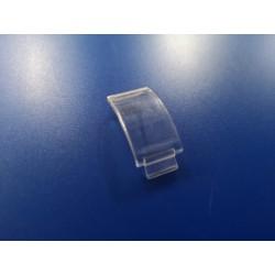 gemo pequeño plastico transparente de luz de matricula
