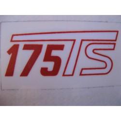ducati 175 Ts de las tapas laterales