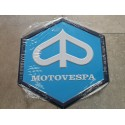 motovespa chapa decorativa en relieve 35 cm