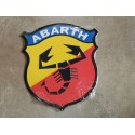 abarth chapa decorativa en relieve de 31 x 26 cm