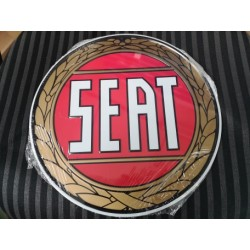 SEAT placa decorativa en relieve de 30 cm diametro