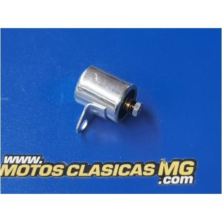 condensador tipo motoplat de tuerca medidas 18 x 21 mm