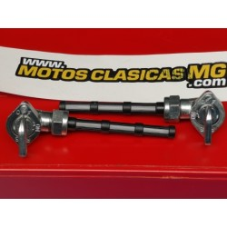 moto guzzi V35 V50 y V65 pareja de grifos de gasolina