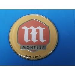 montesa emblema rigido para casi todos los modelos diametro 55mm