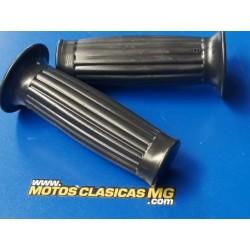 ciclomotor clasico años 60 y 70 con cambio en el puño pareja de puños de goma del manillar