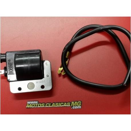 bobina de alta negra para todo tipo de motos de platinos