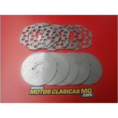 montesa brio 80 81 110 y 150 juego de discos de emnbrague