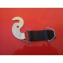 montesa enduro soporte derecho del asiento pletina y tirante de goma